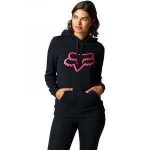 fox sudadera mujer chica Boundary rosa negra womens mx moto enduro mtb (2)