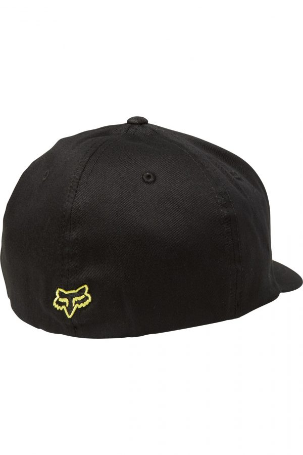 gorra fox flexfit flex 45 negra amarilla madrid tienda fox (1)