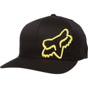 gorra fox flexfit flex 45 negra amarilla madrid tienda fox (2)