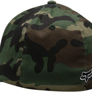 gorra fox legacy camuflaje logo negro relieve outlet madrid fox shop (1)
