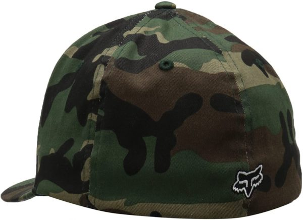gorra fox legacy camuflaje logo negro relieve outlet madrid fox shop (1)