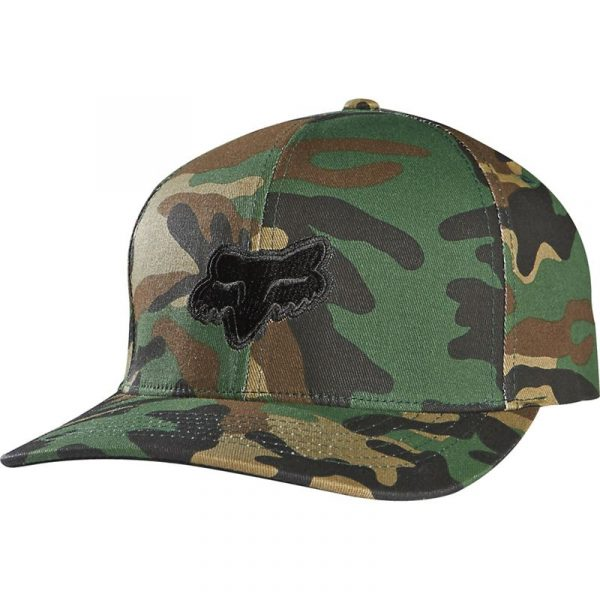 gorra fox legacy camuflaje logo negro relieve outlet madrid fox shop (2)