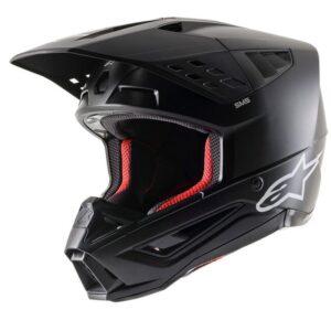 motocros enduro casco alpinestars sm5 negro matte