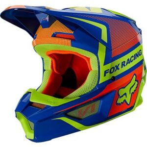 motocross enduro Casco fox v1 oktiv azul (3)