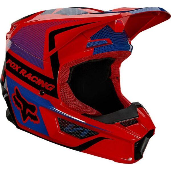 motocross enduro casco fox v1 niño oktiv