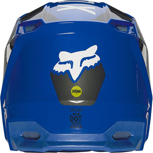 mx casco fox v1 revn azul