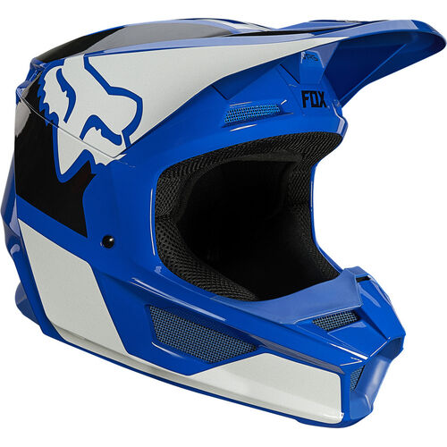 rebajas casco fox v1 revn azul
