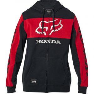 sudadera Fox Honda negra roja outlet (2)