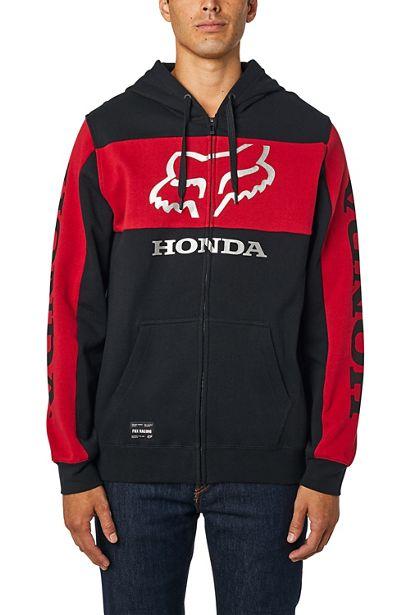sudadera Fox Honda negra roja outlet (4)