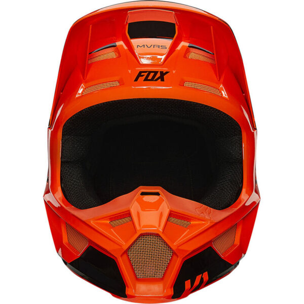 tienda madrid outlet casco fox v1 revn naranja fluor (1)