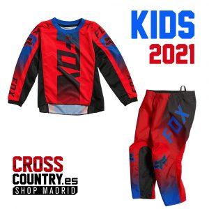traje fox kids niño pequeño oktiv rojo 2021 españa sanse (2)
