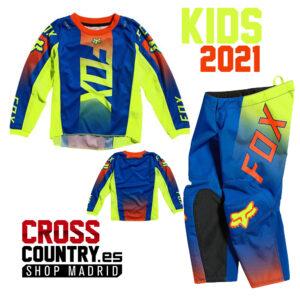traje fox para niños pequeños oktiv azul 2021