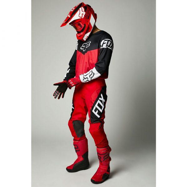 traje niño fox 2021 revn rojo blanco negro ofertas en motocross madrid (2)