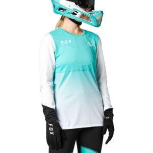 camiseta fox chica flexair teal nueva coleccion 2021 en crosscountry (2)