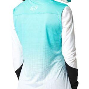 camiseta fox chica flexair teal nueva coleccion 2021 en crosscountry (3)