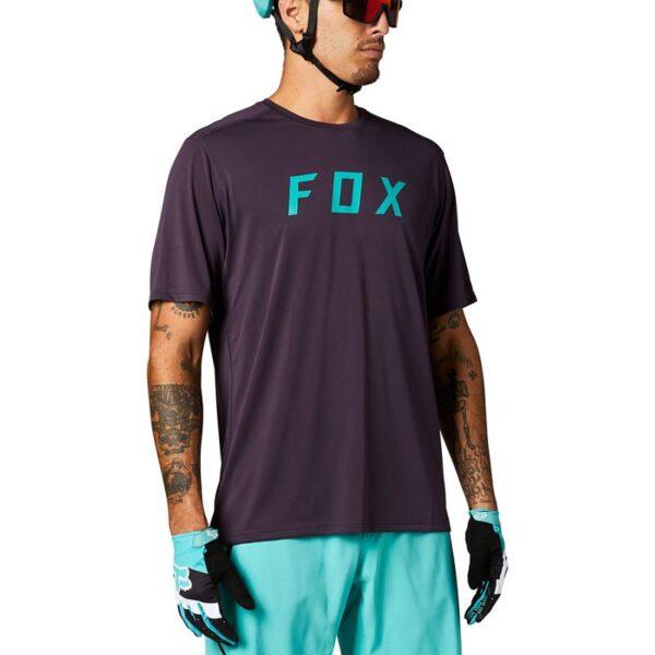 camiseta fox ranger purpura y turquesa nueva coleccion primavera 2021 crosscountry madrid españa (2)