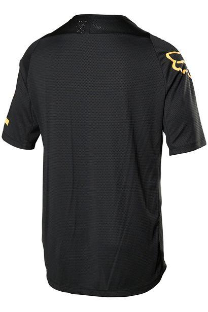 fox camiseta defend manga corta negra logo naranja madrid (1)