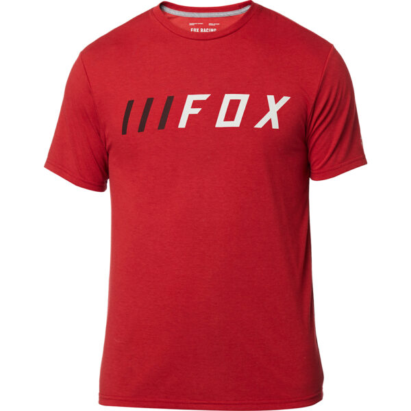 fox camiseta outlet barata madrid down shift roja (1)
