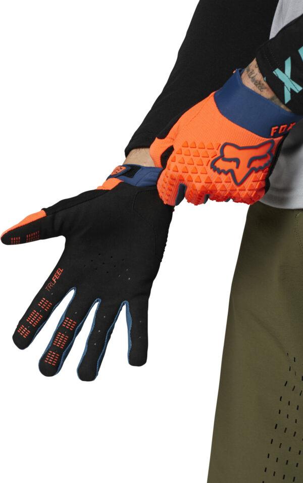 fox guantes defend naranja mtb moto (1)