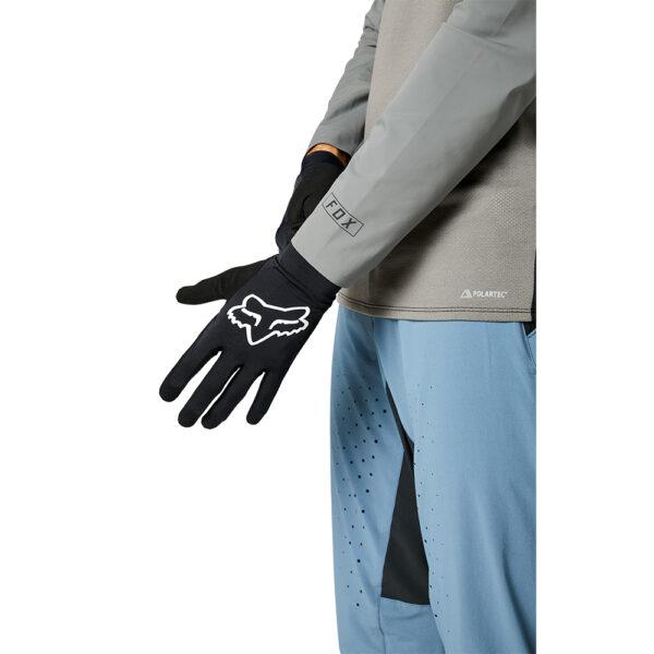 fox guantes flexair mtb negro tacto ligero ventilado (1)