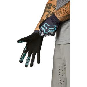fox guantes mtb flexair bici tacto comodos teal (2)