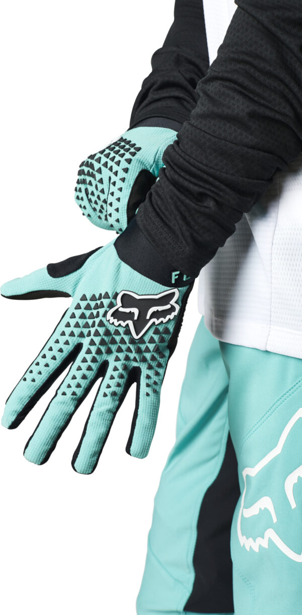 fox guantes mujer chica defend mtb moto