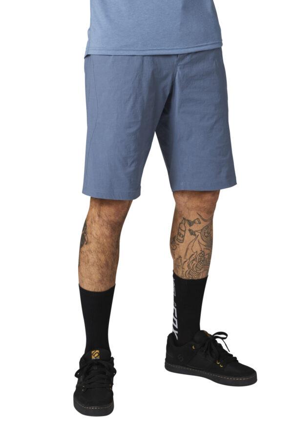 fox pantalon corto ranger mt blue azul enduro
