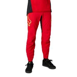 fox pantalon largo mtb bici defend rs chilli rojo madrid (3)