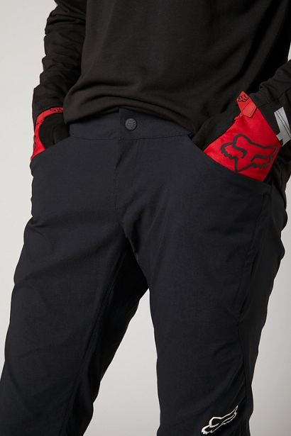 fox pantalon ranger largo negro mtb dh trail enduro (1)