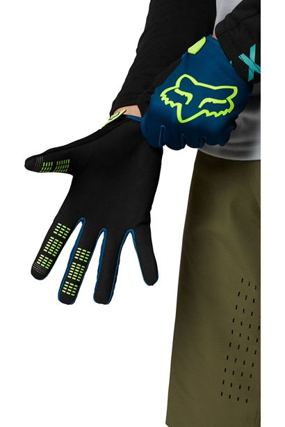 guante fox ranger azul amarillo fluor nueva coleccion disponible en crosscountry shop madrid (1)