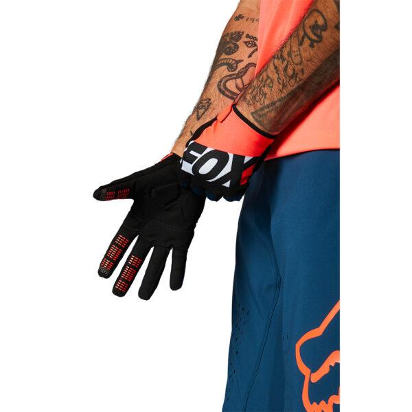guantes fox ranger gel mtb bici naranja atomic punch (1)