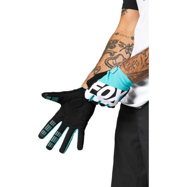 guantes fox ranger gel teal mtb bici barato madrid (1)