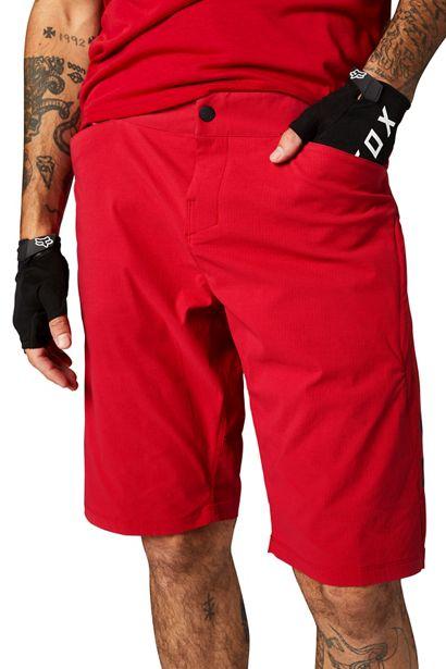 pantalon short ranger lite fox nueva coleccion rojo intenso ya disponible en crosscountry (1)