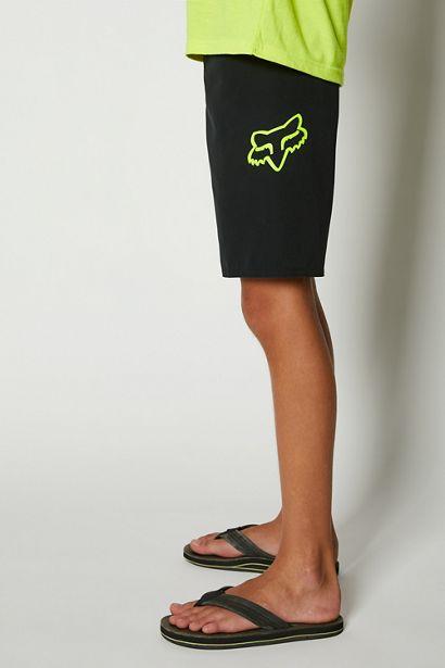 bañador niño Fox Overhead negro logo amarillo fluor tienda madrid (5)