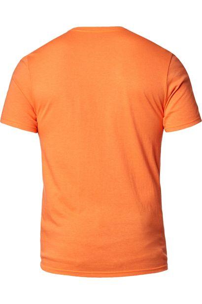 camiseta fox Warp Speed naranja (1)