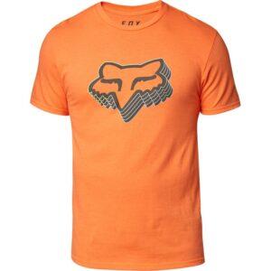 camiseta fox Warp Speed naranja (2)