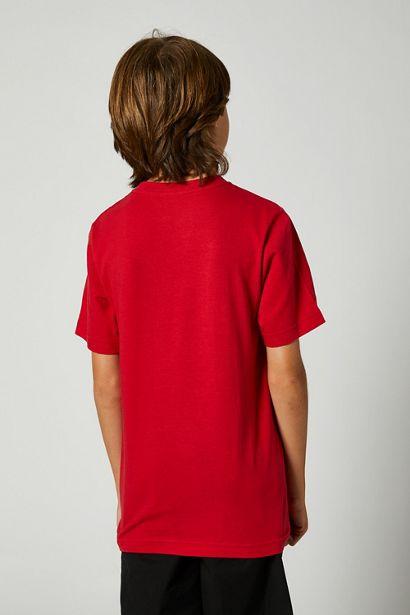 camiseta fox niño foundation roja amarilla fluor nueva coleccion ya disponible en crosscountry shop madrid (1)