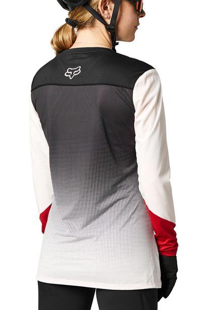 camiseta mujer chica Fox Flexair rosa negra 2021 barata madrid crosscountry (1)