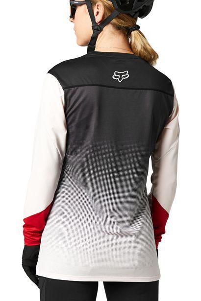 camiseta mujer chica Fox Flexair rosa negra 2021 barata madrid crosscountry (3)