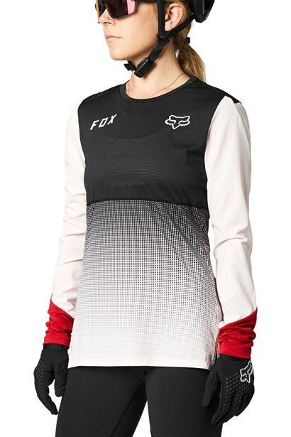 camiseta mujer chica Fox Flexair rosa negra 2021 barata madrid crosscountry (4)
