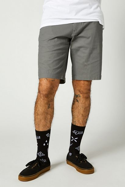 pantalon corto Essex gris madrid crosscountry fox (2)