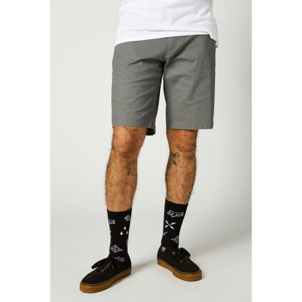 pantalon corto Essex gris madrid crosscountry fox (3)