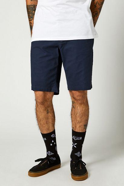 pantalon corto Fox Essex azul marino crosscountry madrid (1)