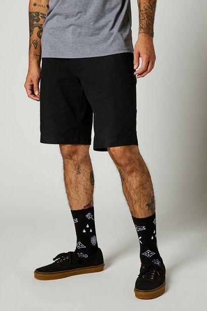 pantalon corto Fox Essex negro 2 0 barato madrid crosscountry (2)