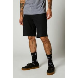 pantalon corto Fox Essex negro 2 0 barato madrid crosscountry (3)