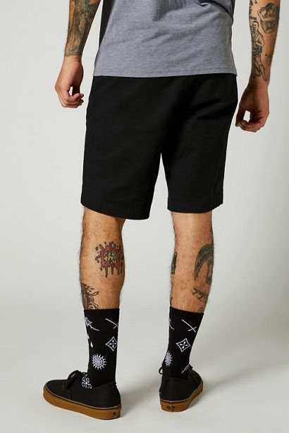 pantalon corto Fox Essex negro 2 0 barato madrid crosscountry (4)