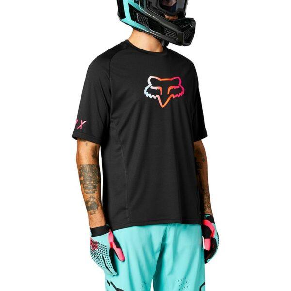 camiseta Fox Defend manga corta Pyre madrid barata mtb bici (2)