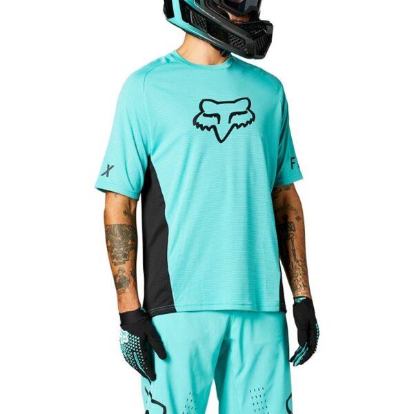 camiseta Fox mtb bici defend teal madrid outlet (1)