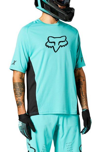 camiseta Fox mtb bici defend teal madrid outlet (3)