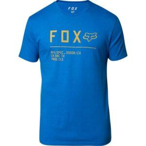 camiseta fox Non stop azul manga corta madrid (2)